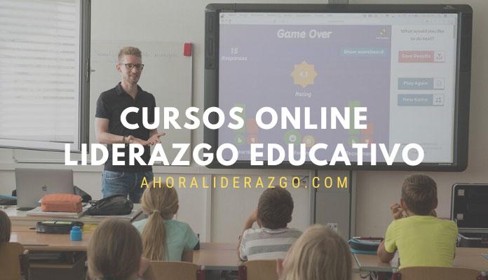 cursos online liderazgo educacional